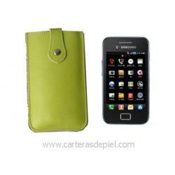 Funda de Móvil en Piel Samsung Galaxy ace s5830